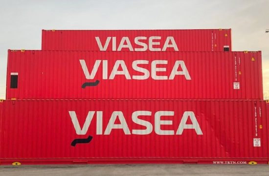 Red Viasea Containers